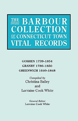 Image for The Barbour Collection of Connecticut Town Vital Records [Vol. 14]