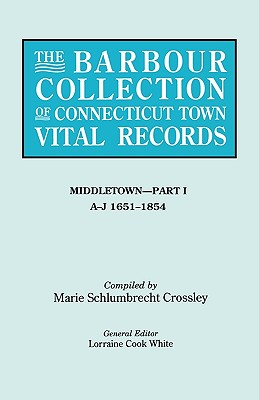 Image for The Barbour Collection of Connecticut Town Vital Records [Vol. 26]