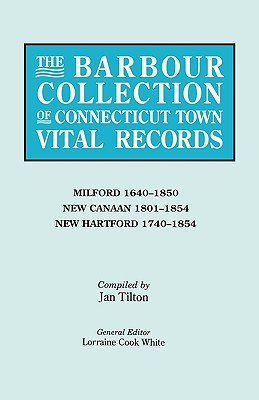 Image for The Barbour Collection of Connecticut Town Vital Records [Vol. 28]