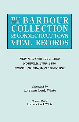 Image for The Barbour Collection of Connecticut Town Vital Records [Vol. 30]