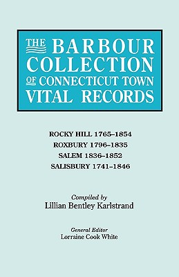 Image for The Barbour Collection of Connecticut Town Vital Records [Vol. 37]