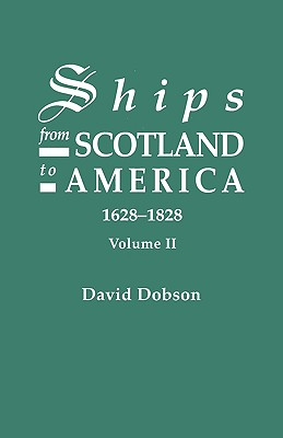 Image for Ships from Scotland to America. Volume II