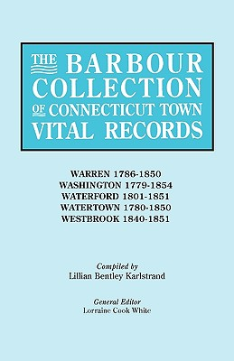 Image for The Barbour Collection of Connecticut Town Vital Records [Vol. 49]