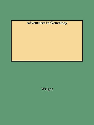 Image for Adventures in Genealogy