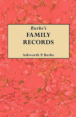 Image for Burke's Family Records