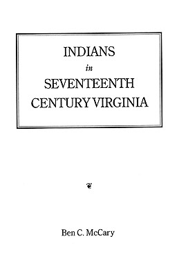Image for Indians in Seventeenth-Century Virginia