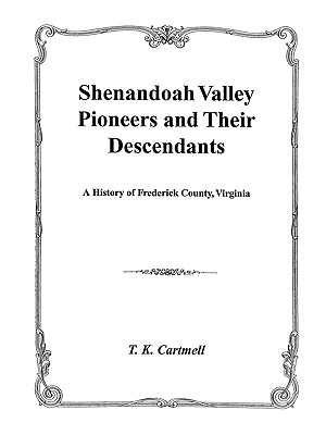 Image for Shenandoah Valley Pioneers and Their Descendants