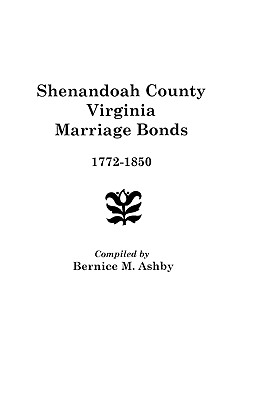 Image for Shenandoah County Marriage Bonds, 1772-1850
