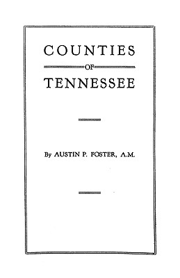 Image for Counties of Tennessee