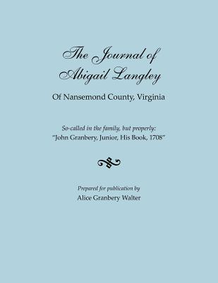 Image for The Journal of Abigail Langley of Nansemond County, Virginia