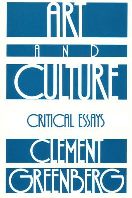 Image for Art and Culture: Critical Essays