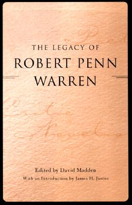 Image for The Legacy of Robert Penn Warren (Southern Literary Studies)