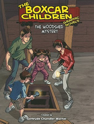Image for The Woodshed Mystery (13) (The Boxcar Children Graphic Novels)