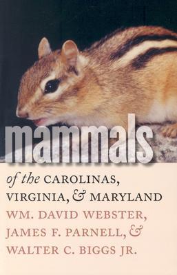 Image for Mammals of the Carolinas, Virginia, and Maryland