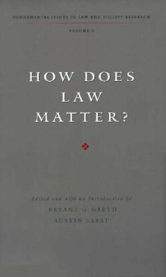 Image for How Does Law Matter