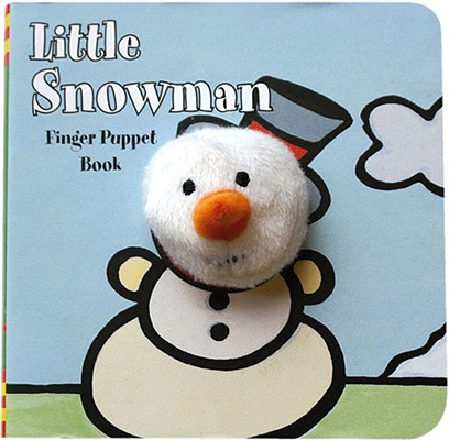 Image for Little Snowman: Finger Puppet Book: (Finger Puppet Book for Toddlers and Babies, Baby Books for First Year, Animal Finger Puppets) (Little Finger Puppet Board Books)