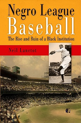 Image for Negro League Baseball: The Rise and Ruin of a Black Institution