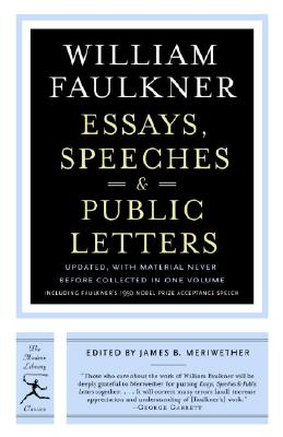 Image for Essays, Speeches & Public Letters
