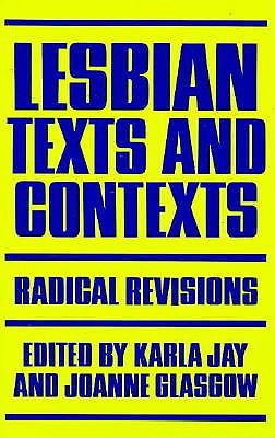 Image for Lesbian Texts and Contexts: Radical Revisions (Feminist Crosscurrents)