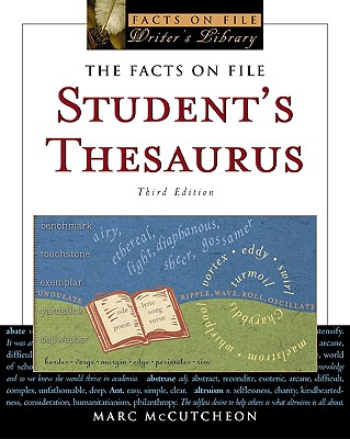 Image for The Facts On File Student's Thesaurus (Facts on File Writer's Library)