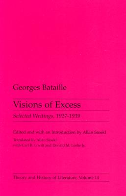 Image for Visions of Excess: Selected Writings, 1927-1939