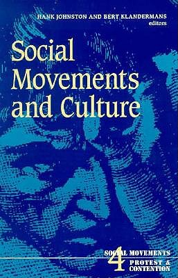 Image for Social Movements and Culture (Social Movements, Protest and Contention)