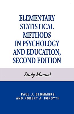 Image for Elementary Statistical Methods in Psychology