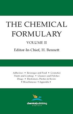 The Chemical Formulary, Vol. 2, Bennett, H.