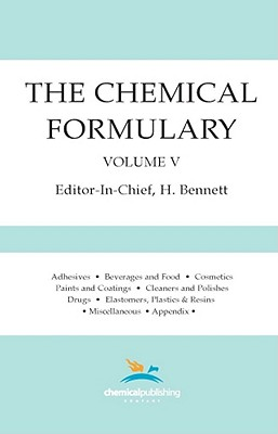 The Chemical Formulary, Vol. 5
