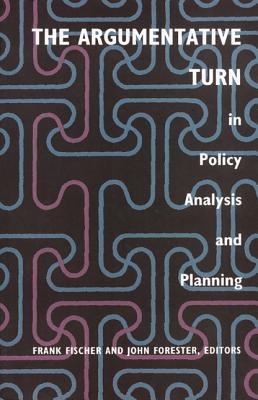 Image for The Argumentative Turn in Policy Analysis and Planning