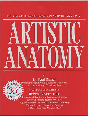 Image for Artistic Anatomy The Great French Classic on Artistic Anatomy