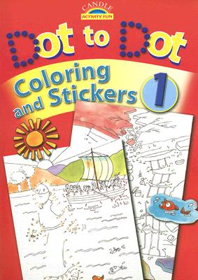 Image for Dot to Dot Coloring and Stickers (Candle Activity Fun)