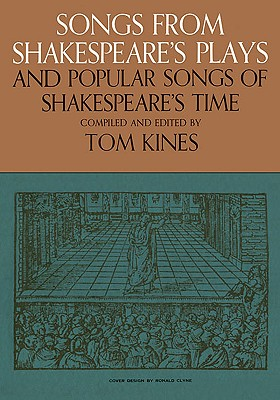 Image for Songs from Shakespeare's Plays and Popular Songs of Shakespeare's Time