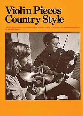 Violin Pieces - Country Style (Am32426), Barlow, Betty M.