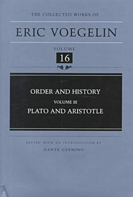 Image for Order and History, Volume 3 : Plato and Aristotle