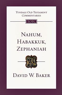 Image for TOTC Nahum, Habakkuk, Zephaniah (Tyndale Old Testament Commentaries)