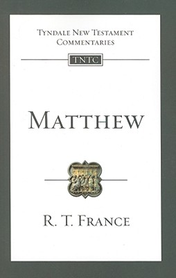 Image for TNTc Matthew: An Introduction and Commentary (Tyndale New Testament Commentaries (IVP Numbered))