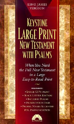 Large Print New Testament with Psalms: King James Version, Bible