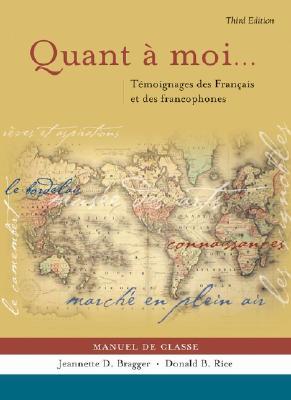 Image for Quant a moi...: Témoignages des Français et des Francophones (French Edition)