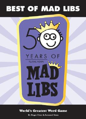 Best of Mad Libs, ROGER PRICE