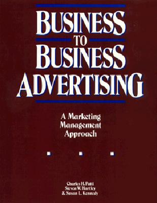 Image for BUSINESS TO BUSINESS ADVERTISING