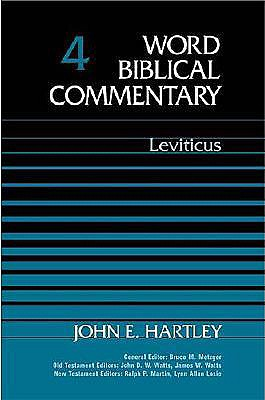 WBC Vol. 4 Leviticus (Word Biblical Commentary), JOHN E. HARTLEY