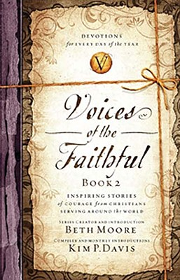 Image for Voices of the Faithful - Book 2: Inspiring Stories of Courage from Christians Serving Around the World