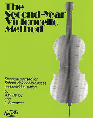 Image for The Second-Year Cello Method