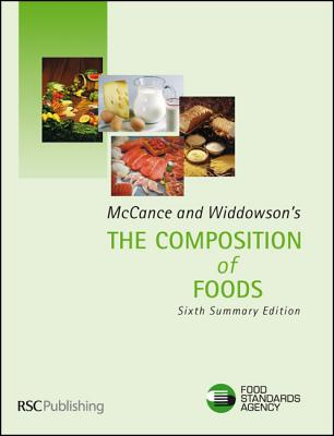 Image for McCance and Widdowson's the Composition of Foods