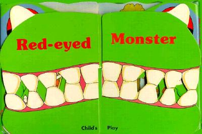 Image for The Red-Eyed Monster (Activity Board Books - Monster Books)