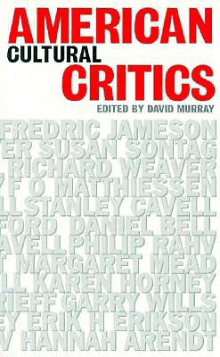 Image for American Cultural Critics (CULTURAL AND SOCIAL STUDIES)