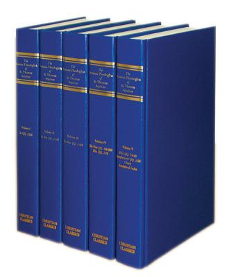 Image for Summa Theologica of St. Thomas Aquinas (translated by Fathers of the English Dominican Province) (5 Volume Set)