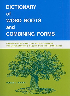 Image for Dictionary of Word Roots