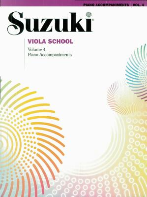 Suzuki Viola School: Piano Accompaniments Volume 4 (Suzuki Method Core Materials)